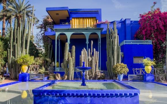 Top 10 des lieux à visiter à Marrakech - Le Jardin Majorelle
