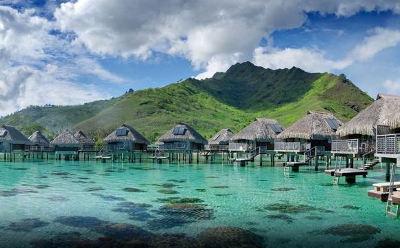 8 hôtels de rêve sur pilotis - Hilton Moorea Lagoon Resort & Spa