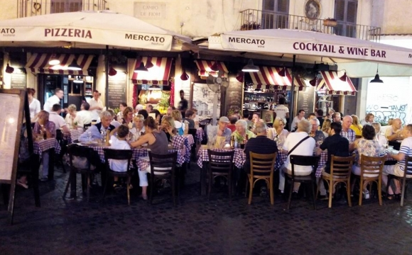 10 restaurants incontournables à Rome - Mercato Hostaria