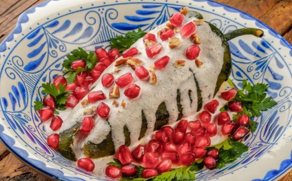 10 spécialités de Noël dans le monde - Les Chiles en Nogada, Méxique