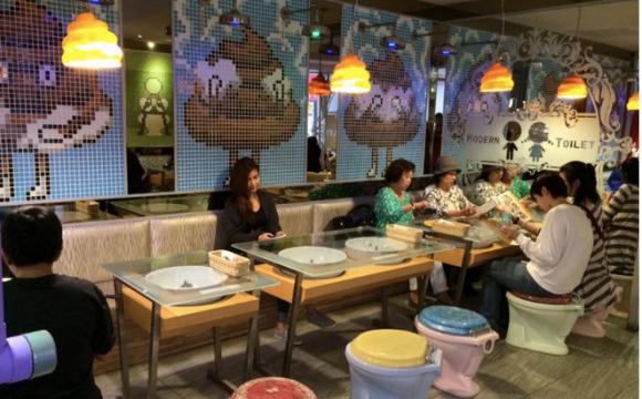10 restaurants insolites qui font rêver - Le Modern Toilet, Taipei, Taïwan