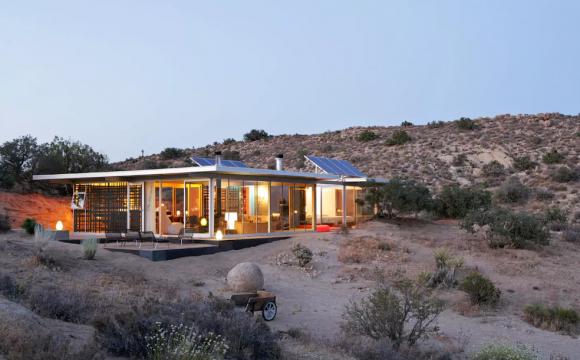 10 maisons les plus populaires de Airbnb - L'Off-grid itHouse à Pioneertown en Californie, USA