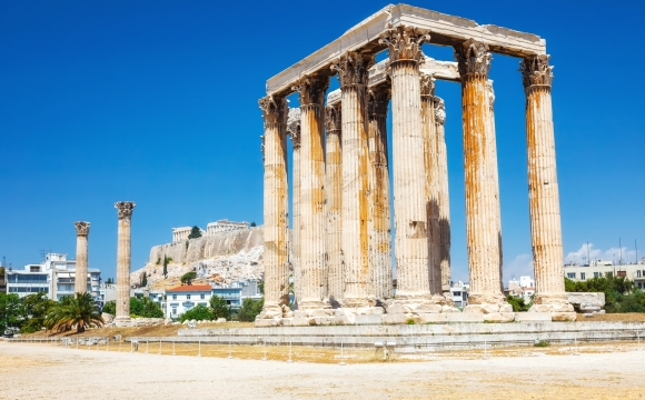 10 visites inratables à Athènes - L'Olympiéion