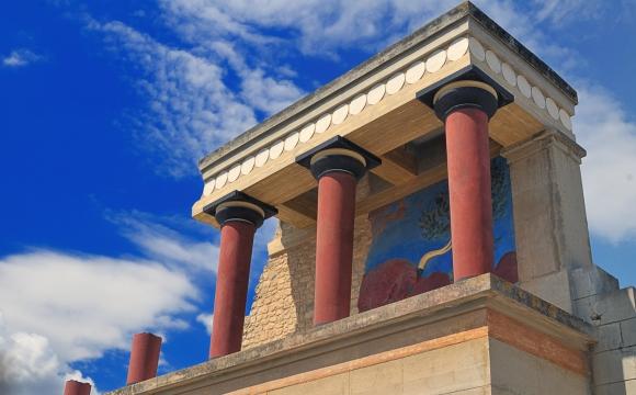 10 visites immanquables en Crète - Palais minoen de Knossos