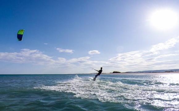 Top 5 des spots de kitesurf incontournables en Europe - Beauduc, Palavas-France