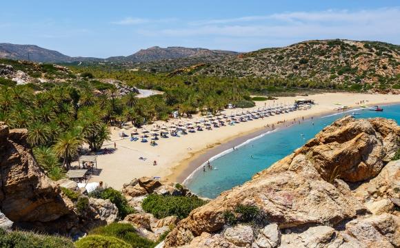 10 visites immanquables en Crète - Palmeraie de Vaï