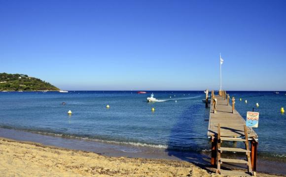 Les 12 plus belles plages du Sud Est de la France - La plage de Pampelonne
