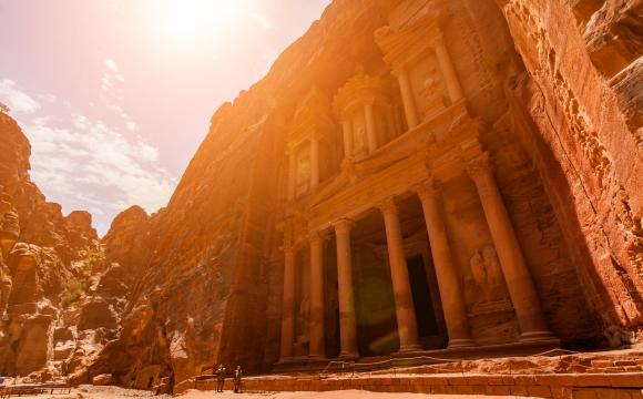 10 voyages à faire une fois dans sa vie - La cité de Petra en Jordanie