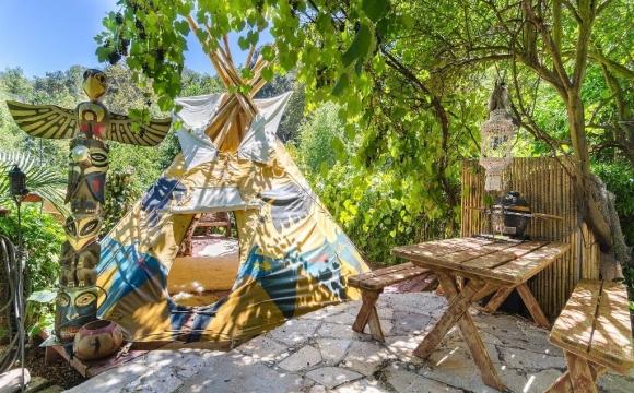 10 maisons les plus populaires de Airbnb -  Pirates of the Carribean Getaway à Topanga en Californie, USA
