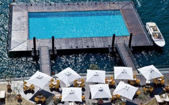 10 piscines de rêve vues sur Pinterest - Grand Hotel Temezzo, Lac de Côme Italie