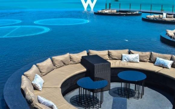 10 piscines de rêve vues sur Pinterest - Hôtel W, Koh Samui - Thaïlande