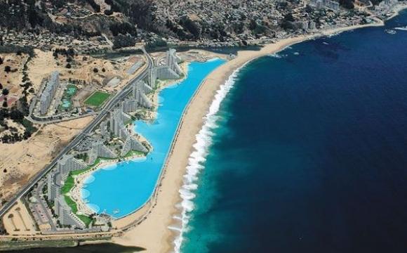 10 piscines de rêve vues sur Pinterest - Crystal Lagoon, Chili