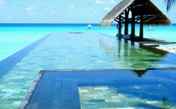 10 piscines de rêve vues sur Pinterest - Hôtel One & Only, Maldives