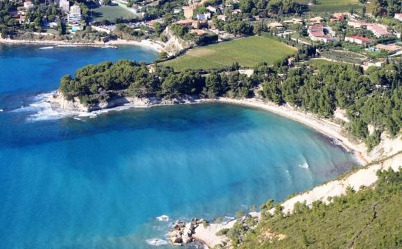 Les 12 plus belles plages du Sud Est de la France - La plage de l'Arène