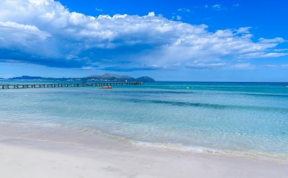 Top 5 des plus belles plages à Majorque - Platja de Muro