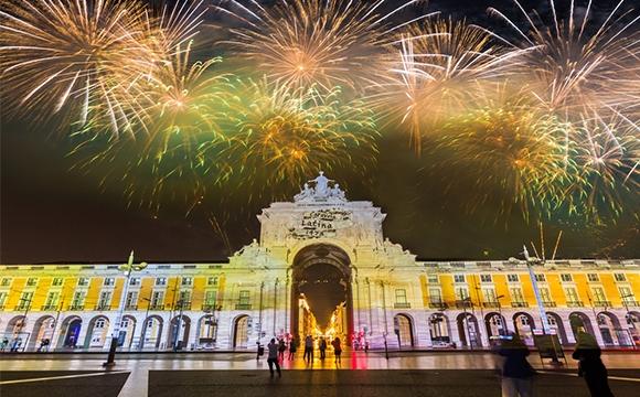 10 villes pour un jour de l'an pas cher - Lisbonne, Portugal
