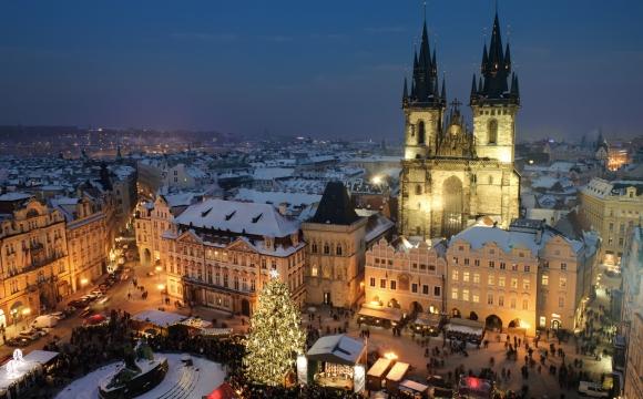 Les 10 plus belles villes à Noël - Prague, République tchèque