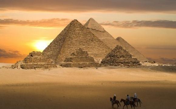 Les pyramides de Kheops