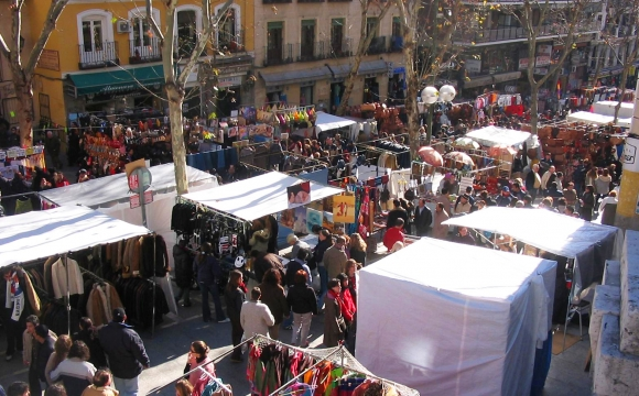 10 activités gratuites à faire à Madrid - Se perdre dans le Rastro