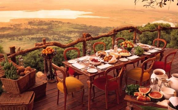 10 restaurants situés dans des endroits sensationnels - And Beyond Ngorongoro Crater Lodge
