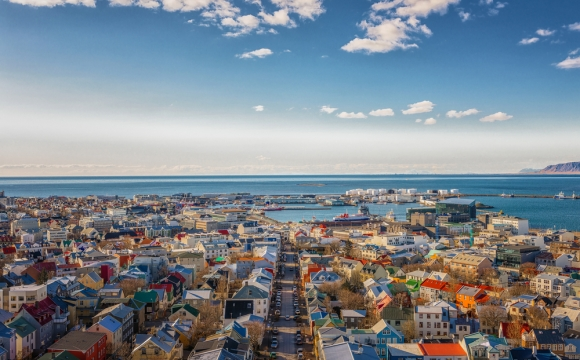 Top 5 des destinations tendances en 2017 selon Booking  - Reykjavik, Islande