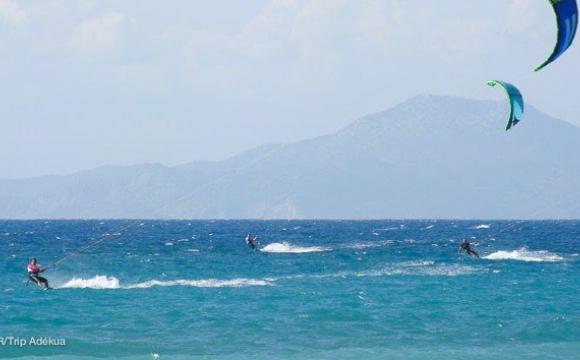Top 5 des spots de kitesurf incontournables en Europe - Rhodes, Grèce