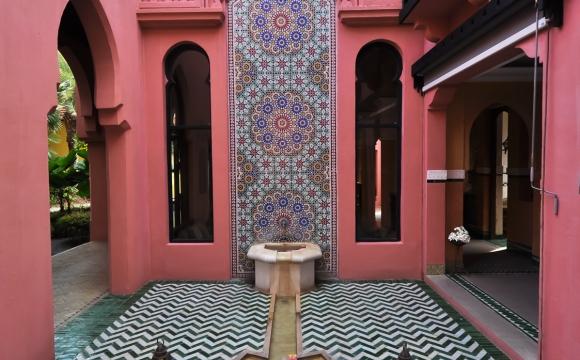 10 photos de voyage pour voir la vie en rose - Un riad à Marrakech