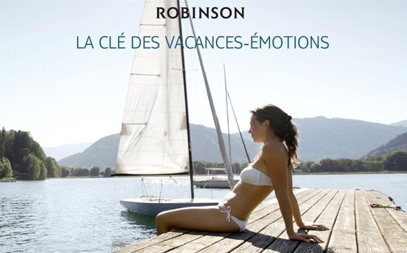 TUI France lance son nouveau site regroupant toutes ses gammes de produit - Robinson, pour un séjour tout en émotion