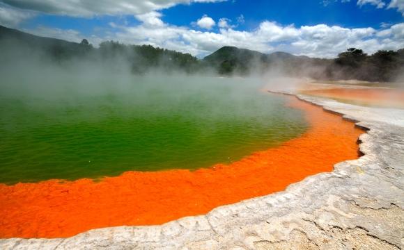 Top 10 des destinations les plus colorées du monde - ROTORUA, Nouvelle Zélande