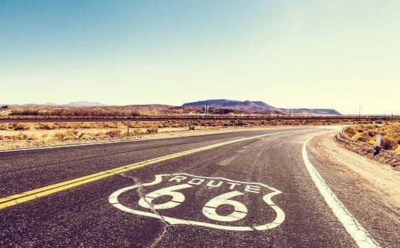 Les 10 plus belles routes au monde à faire en moto - La célèbre route 66