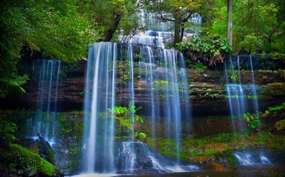Les 10 plus belles cascades du monde -  Russel Falls