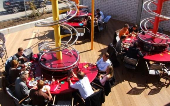 10 restaurants insolites qui font rêver - Le S'Baggers, Nuremberg, Allemagne