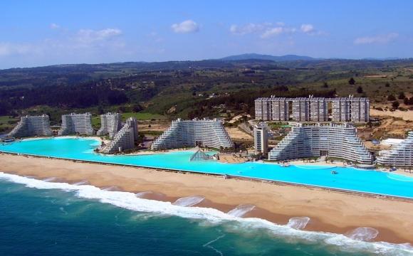 10 hôtels avec une piscine exceptionnelle - San Alfonso Del Mar, Chili