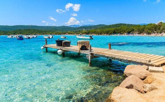 Les 15 plus belles plages de Corse -  Santa Giulia