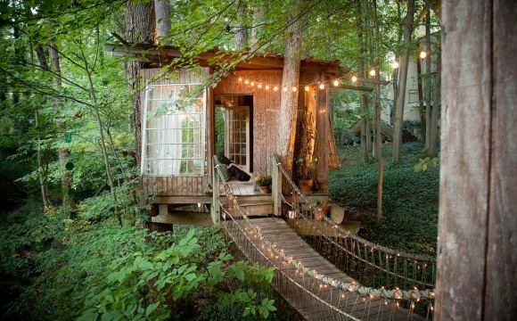 10 maisons les plus populaires de Airbnb - La Secluded Intown Treehouse à Atlanta