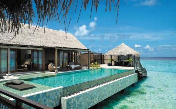 8 hôtels de rêve sur pilotis - Shangri La's Villingili Resort & Spa