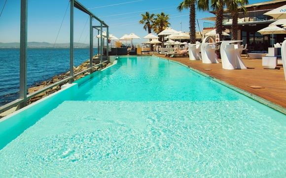 Les 10 plus beaux bars sur la plage - Shimmy beach club à Cape Town