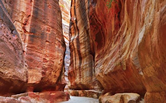 Les 10 plus beaux canyons du monde  - Le Sîq de Petra