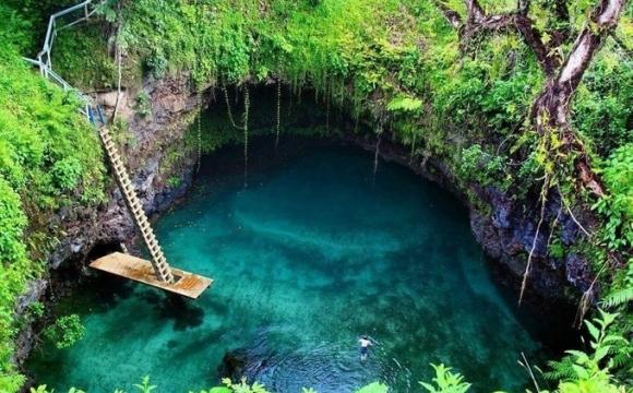 Les 10 plus belles piscines naturelles au monde - Lotofaga, dans les îles Samoa
