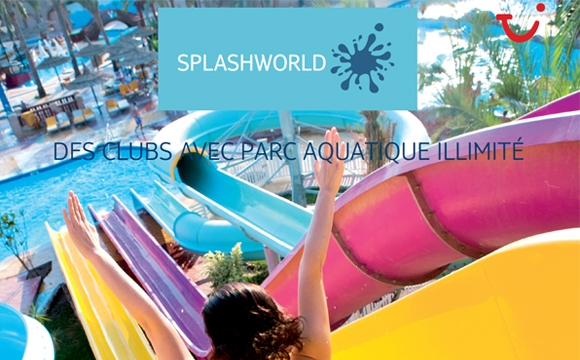 TUI France lance son nouveau site regroupant toutes ses gammes de produit - Splashworld pour un séjour aquatique