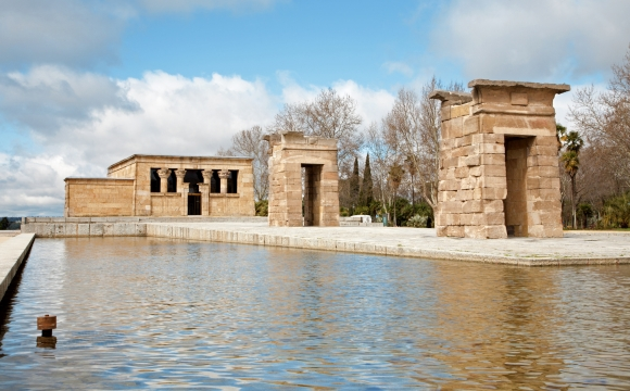 10 activités gratuites à faire à Madrid - Voyage en Égypte au temple d'Amon