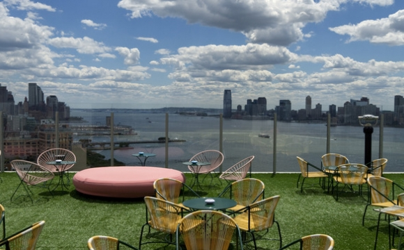 10 bars rooftops à New-York - The Boom Boom Room : strass et paillettes