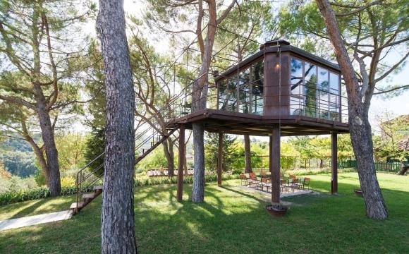 10 maisons les plus populaires de Airbnb - The Treehouse casa Barthel de Florence en Italie