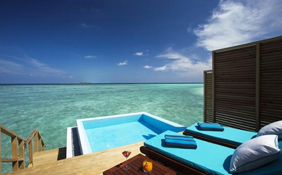 8 hôtels où l'on aimerait vivre à l'année - L'hôtel Velassaru aux Maldives, la bulle bien-être
