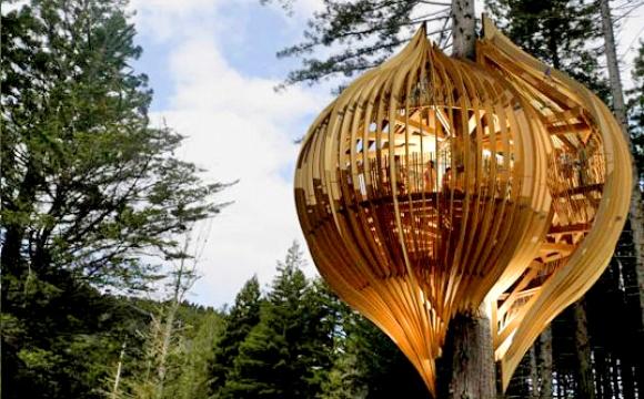10 restaurants insolites qui font rêver - Le Yellow Treehouse Café, Auckland, Nouvelle Zélande