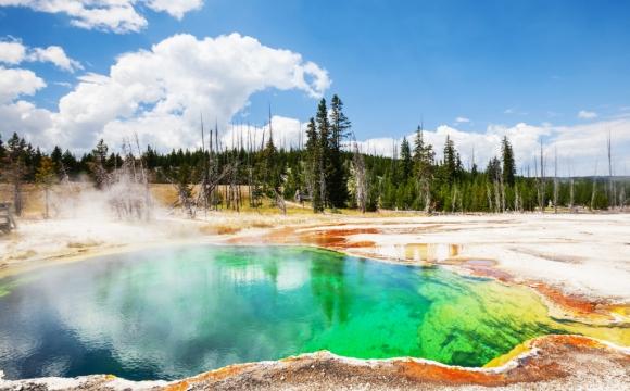 Les 10 plus belles sources d'eaux chaudes du monde - Parc de Yellowstone aux Etats Unis