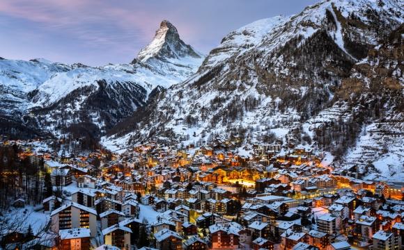 Les 5 plus beaux domaines skiables du monde - Zermatt, Suisse