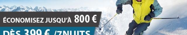 Madame Vacances : dernière minute ski, locations 8j/7n en résidences 3*, jusqu'à - 69%