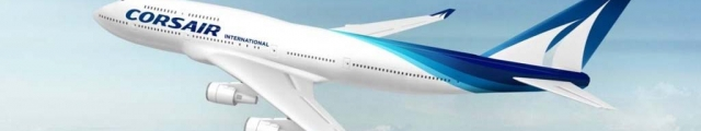 Corsair : offres spéciales vols vers l'Océan Indien, les Antilles...